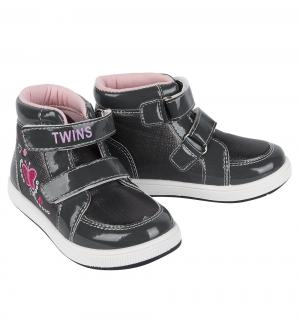 Ботинки , цвет: серый Twins