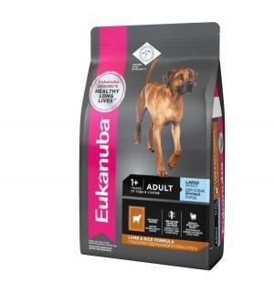 Euk Dog корм для взрослых собак крупных пород ягненок 12 кг. Eukanuba