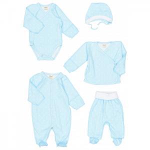 Комплект на выписку  для новорожденных Горошки 29-02 Ёмаё