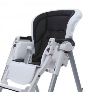 Чехол сменный  к стульчику для кормления Peg-Perego Best Sport, цвет: white/black Esspero