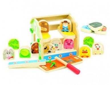 Ферма Мир деревянных игрушек