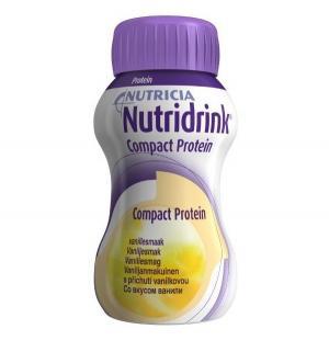 Молочная смесь  Компакт протеин с бананом 3 лет, 125 г, 1 шт Nutridrink