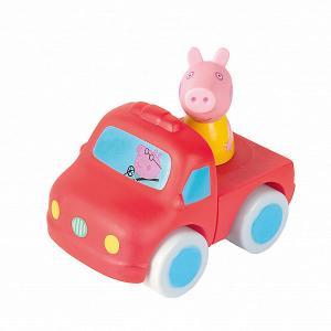 Машинка-конструктор  Свинка Пеппа с фигуркой Пеппы Росмэн. Цвет: красный