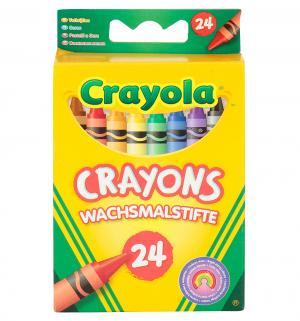 Пастель  разноцветная восковая 24 шт. Crayola