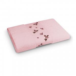 Полотенце махровое 70*140 Розали, , розовый Cozy Home