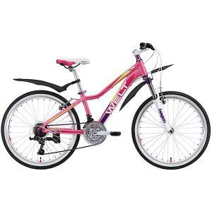 Велосипед  Edelweiss 24, розовый Welt. Цвет: розовый/розовый