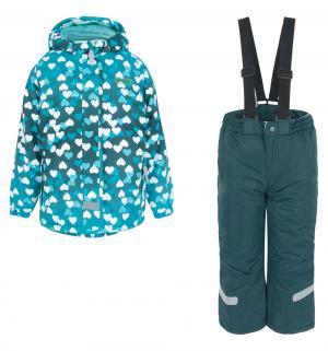 Комплект куртка/полукомбинезон , цвет: бирюзовый Fobs