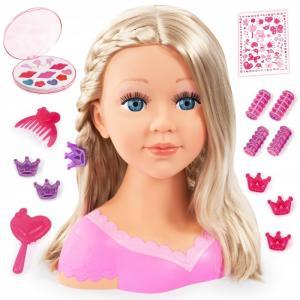 Кукла Модель с косичкой для причесок косметикой 27 см Bayer