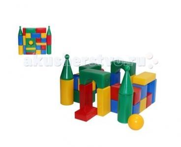 Развивающая игрушка  Строительный набор Стена-смайл (27 элементов) СВСД