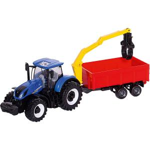 Трактор  Farm tractor, 1:32 Bburago. Цвет: красный
