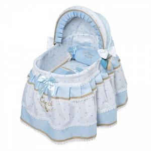 Кроватка для куклы  с козырьком Кэрол 46 см DeCuevas