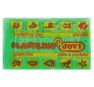 Пластилин  50гр зеленый Jovi