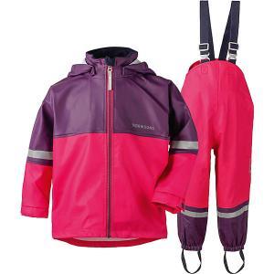 Комплект Didriksons Waterman: куртка и полукомбинезон DIDRIKSONS1913. Цвет: розовый