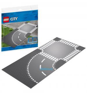 Конструктор  City Supplementary 60237 Поворот и перекрёсток LEGO
