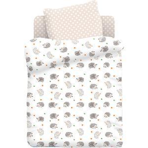 Комплект детского постельного белья  Ёжики Juno. Цвет: разноцветный
