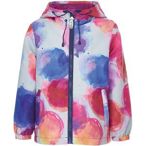 Куртка  для девочки Button Blue. Цвет: разноцветный