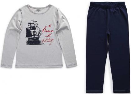 Пижама La Compagnie des Petits. Цвет: серый
