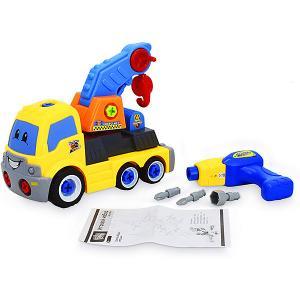 Игровой набор-конструктор  Автокран Bebelot. Цвет: разноцветный