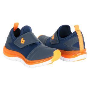 Кроссовки , цвет: синий/оранжевый Bibi