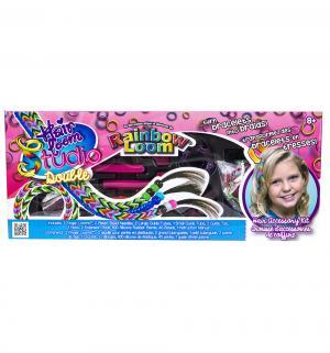 Набор цветных резиночек  Хэа Лум Дабл для плетения Rainbow Loom