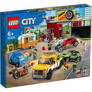 Конструктор  City Turbo Wheels 60258: Тюнинг-мастерская LEGO