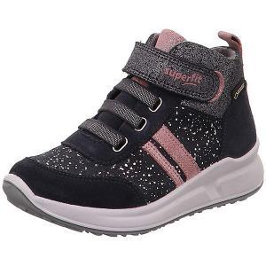 Ботинки Superfit. Цвет: серый