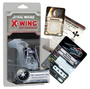 Настольная игра  Star Wars X-Wing. Расширение -Перехватчик Hobby World
