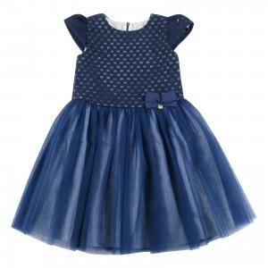 Нарядное платье Wojcik. Цвет: темно-синий