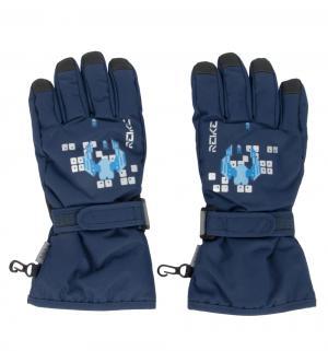 Перчатки Галактика, цвет: синий Reike