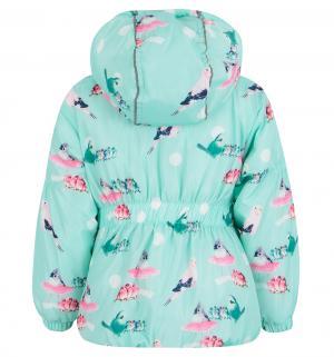 Комплект куртка/полукомбинезон , цвет: бирюзовый Bony Kids