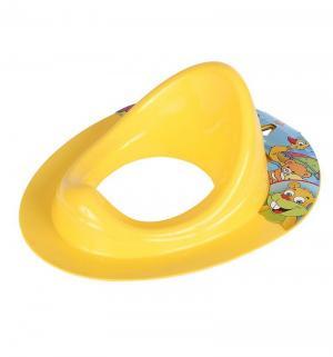 Накладка на унитаз , цвет: желтый Dunya