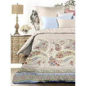 Комплект постельного белья  Сказка, евро Романтика. Цвет: разноцветный