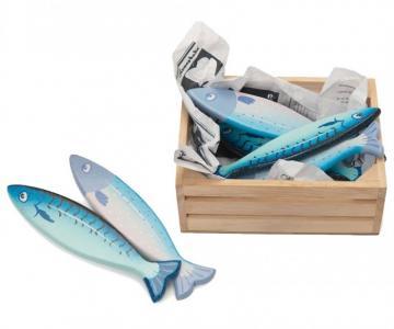 Деревянная игрушка  Набор Свежая рыба LeToyVan
