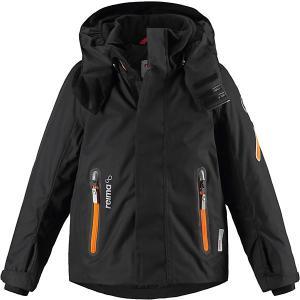 Куртка Regor  для мальчика Reima. Цвет: черный