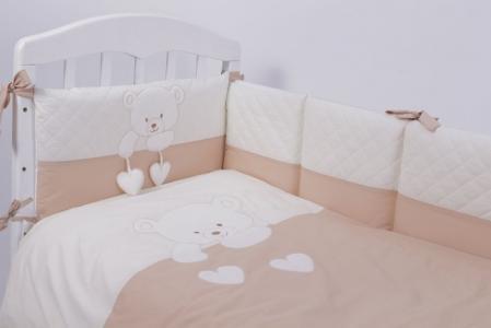 Комплект в кроватку  Пушистик (6 предметов) Топотушки