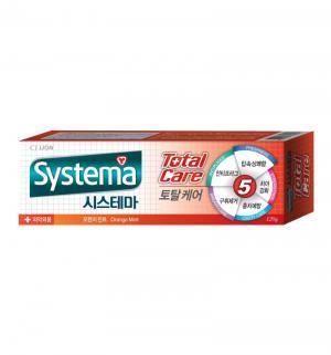 Зубная паста  Systema с ароматом Апельсина и мяты, от 12 лет, 120 гр CJ Lion