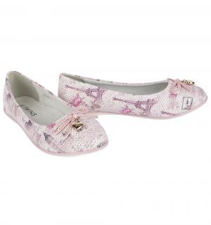Туфли , цвет: розовый Twins