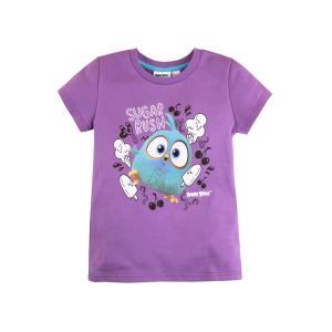 Футболка  Angry Birds, цвет: фиолетовый Bossa Nova