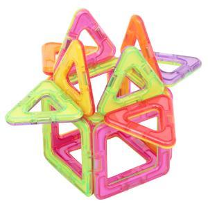 Магнитный конструктор  Магический магнит розово-салатовый Tongde