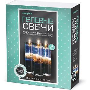 Набор для создания гелевых свечей Josephin с ракушками, № 6 Josephine. Цвет: разноцветный