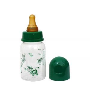 Бутылочка  полипропилен, 125 мл, цвет: зеленый Курносики