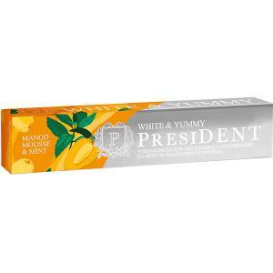 Зубная паста President White & Yummy Манго-мусс с мятой, 75 г