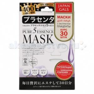 Маска с плацентой Pure5 Essential 30 шт. Japan Gals