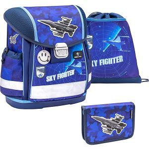 Ранец  Classy Sky Fighter, с наполнением Belmil. Цвет: темно-синий деним