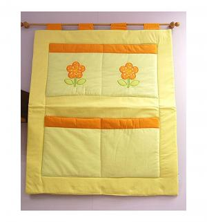 Карман на кроватку Принцесса, цвет: желтый Feretti