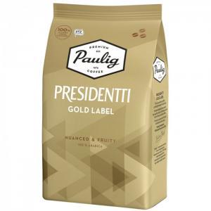 Кофе в зернах Presidentti Gold Label 1 кг Paulig