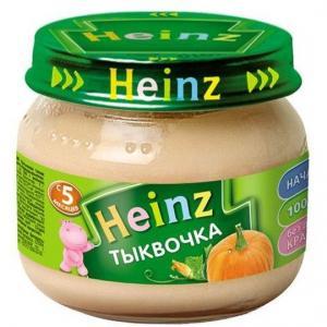 Пюре  тыква с 5 месяцев, 80 г Heinz