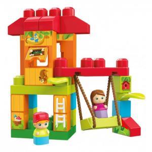 Конструктор  Mattel First Builders Веселые качели (29 деталей) Mega Bloks
