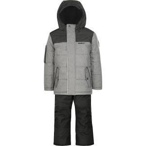 Комплект : куртка и полукомбинезон Gusti. Цвет: темно-серый