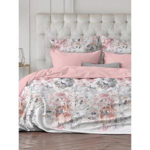Комплект постельного белья  Allegra, 1,5-спальное Романтика. Цвет: розовый